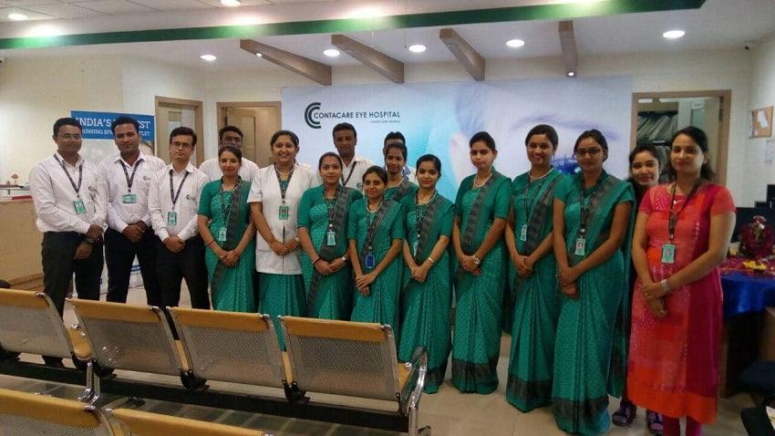 Contacare Eye Hospital Ahmedabad